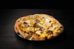 Pizza cu ciuperci și ulei de trufe