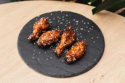 Курячі крильця у гострому медовому соусі (230г)