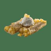 Crepe babaco en almíbar