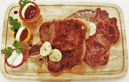 T-bone steak  1kg