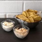 Patatas casera bravioli