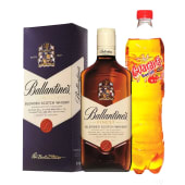 Ballantines Finest 750 Ml. + Guarana 1 Lt