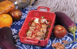 Баклажани Сіхварулі з сиром Надугі в помідорному соусі (300г)