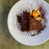 Capricho de chocolate negro