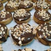 Galletas chocolate almendra (12 uds.)