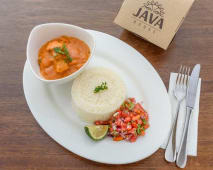 Swahili Coconut Fish Curry