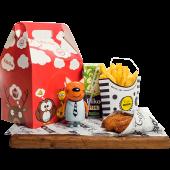Kids box для девочек с наггетсами