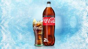 Coca-Cola Zero Azúcar botella 2L.