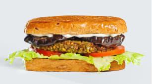 Сендвіч Фалафель+баклажан