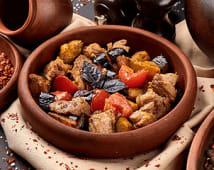 М'ясо з баклажанами по-грузинськи (300г)