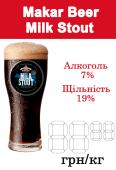 Пиво Milk Stout (Молочний Стаут) - Makar Beer (1л)