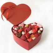 Caja de Corazón con Chucherías