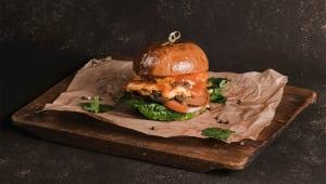 Бургер з подвійним сиром (300г)