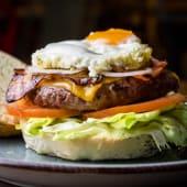 La Egg Burger