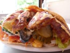 Meniu Shaorma Mare Vita cu berbecut - Bautura + Cartofi