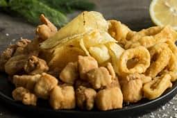 Mix frittura di pesce