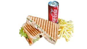 Комбо меню Сендвіч з шинкою (220г)