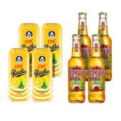 4X Ciuc Radler Lamaie si Lime 1.9% alcool + 4X Desperados