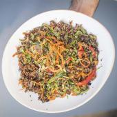 Wok de Vegetales y Quinoa (Vegan)
