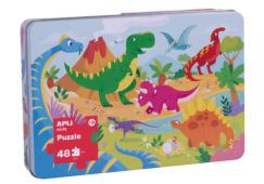 Puzzle Dinossauros Apli 48pcs 17888