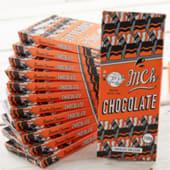 Tableta de chocolate con leche M.Ch