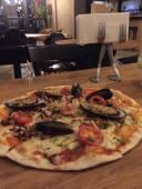 ზღვის პროდუქტების პიცა