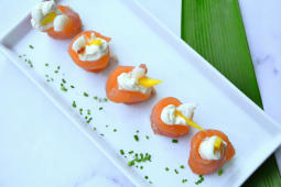 Geisha salmón recargada (5 uds.)