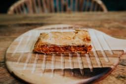 Empanada Atun y pisto 300 grs ( 2 Raciones)