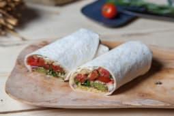 Falafel vegetarian wrap