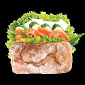 Сендвіч Трітон з лососем