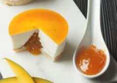 Porción Tarta de Yogur & Mango