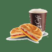 Tostado napolitano + café (14 oz.)
