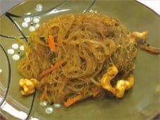 Spaghetti di Soia al Curry