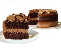 Torta de chocolate pequeña (8 porciones)