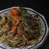 Chop sueyde carne