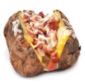 Cartof copt cu mozarella si bacon