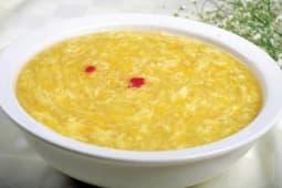 Сладкий яичный суп