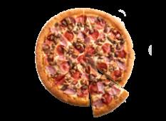 Pizza trois viandes