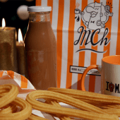 Chocolate (500 ml.) + churros (8 uds.)