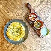 Спокусливий картопляний коржик з чедером і моцарелою (300г)