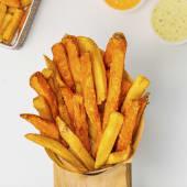 Mix boniato y patatas fritas