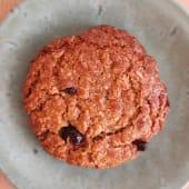 Cookie de Aveia, Canela e Passas