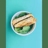 Sánwich de atún en aceite de oliva