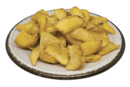 Patatine fritte rustiche