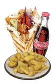 Menù Pita Chicken E Bacon