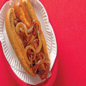 Hot Dog (with Cheese)
