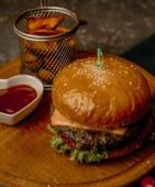Бургер с говядиной (300г)