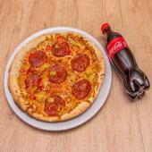 Pizza Al Horno De Piedra Calabrese Picante