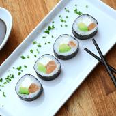 Maki salmón, palta y Philadelphia (5 uds.)