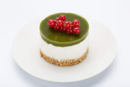 MACHA Vegan cheesecake